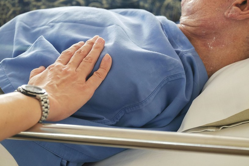 Często umierający pogrążają się we własnych wyobrażeniach /123RF/PICSEL