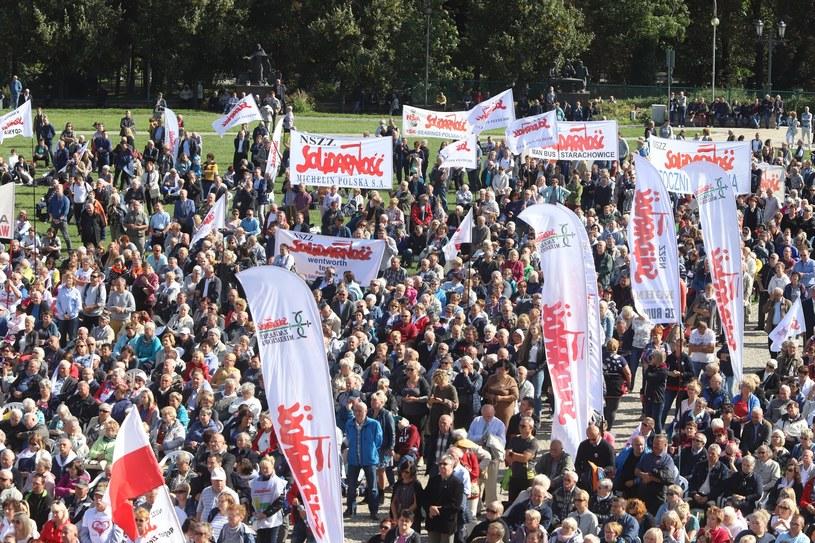 Częstochowa. XXXVII Pielgrzymka Ludzi Pracy na Jasną Górę /Tomasz Kudala/REPORTER /East News