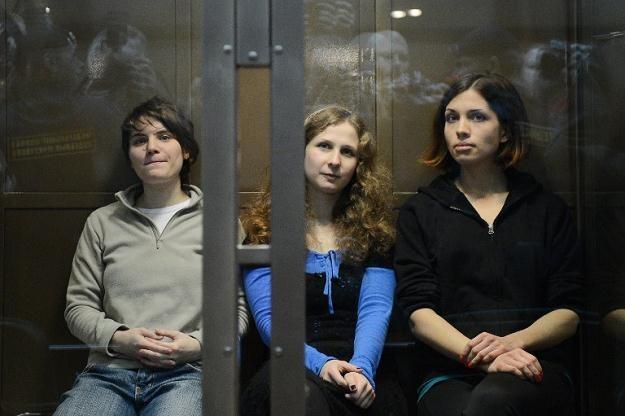 Członkinie zespołu Pussy Riot /AFP