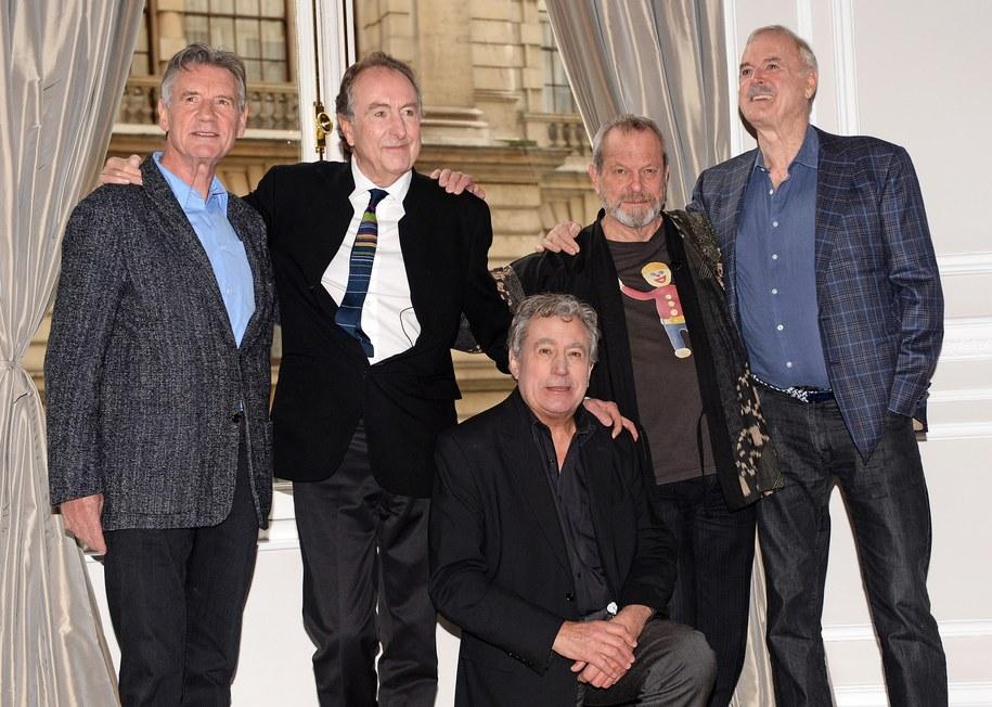 Członkowie Monty Pythona /ANDY RAIN /PAP/EPA
