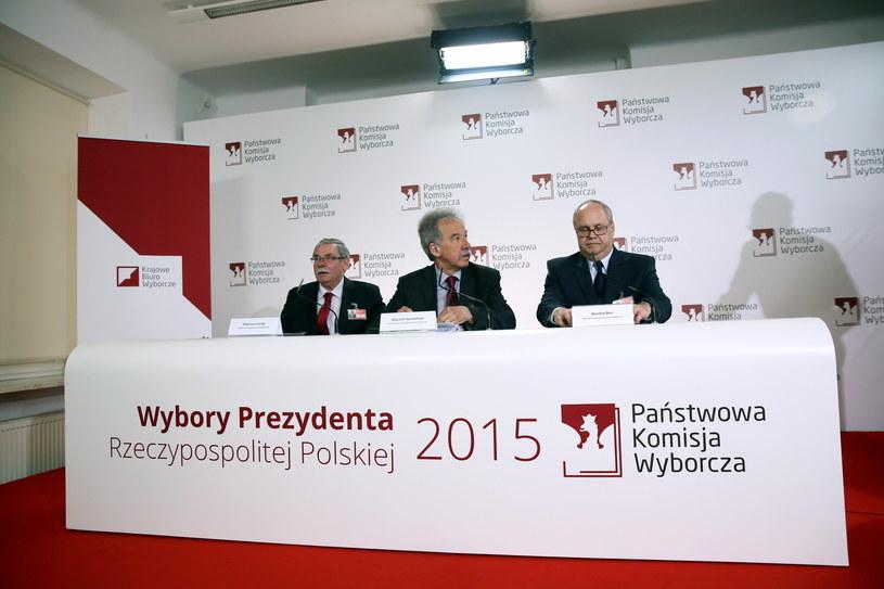 Członkowie Państwowej Komisji Wyborczej /Tomasz Gzell /PAP