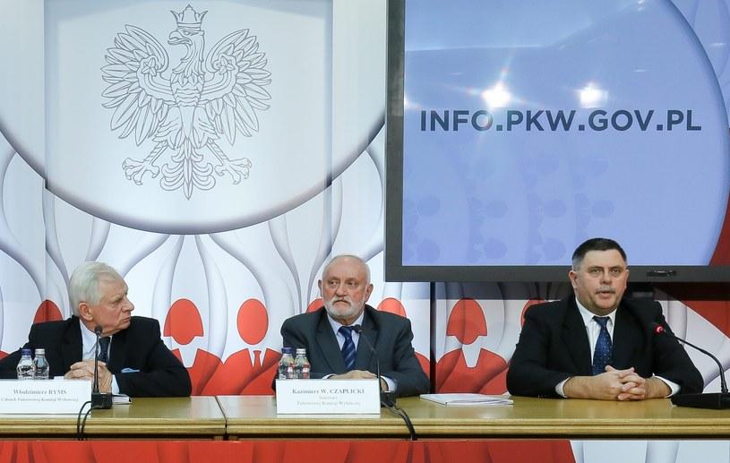 Członkowie PKW /Paweł Supernak /PAP
