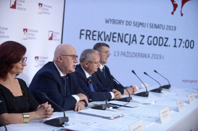 Członkowie PKW / Marcin Obara  /PAP