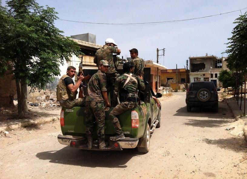 Członkowie prorządowej syryjskiej milicji /AFP