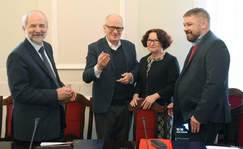 Członkowie Rady Mediów Narodowych /Radek Pietruszka /PAP