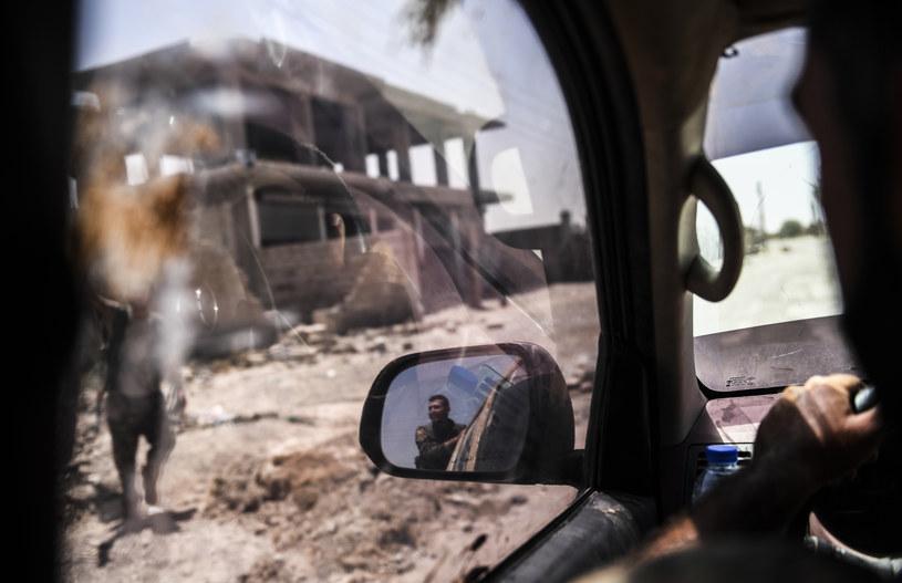 Członkowie Syryjskich Sił Demokratycznych w akcji /AFP