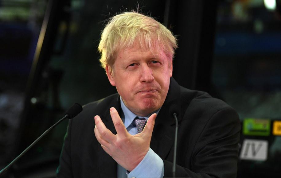 Człowiek, który był jedną z twarzy kampanii brexitu, chce być premierem Wielkiej Brytanii /NEIL HALL /PAP/EPA