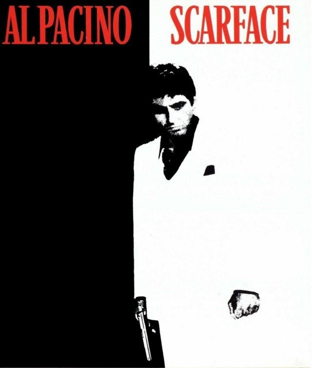 Człowiek z blizną (1983 r.) - motyw z okładki filmu /Informacja prasowa