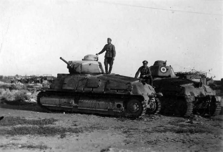 Czołg Somua S35. Mimo licznej armii, Francuzi posiadali niewiele nowoczesnego sprzętu /INTERIA.PL/materiały prasowe