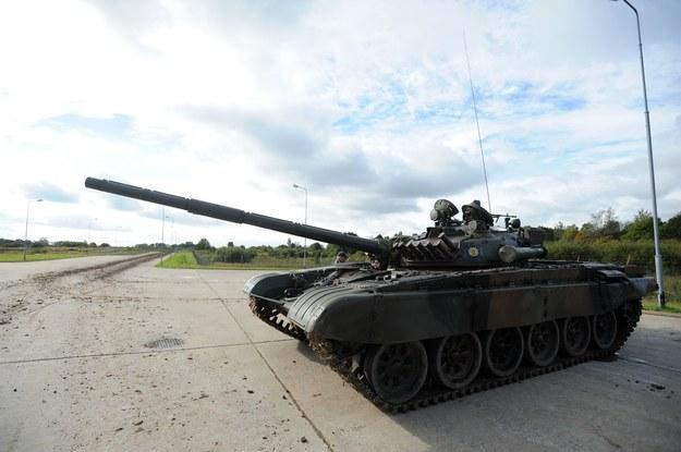 Czołg T 72 /Wojciech Stróżyk /Reporter