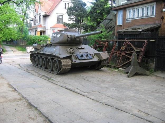 Czołg T34.