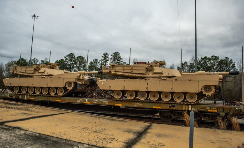 Czołgi M1A2 SEPv3 Abrams @52ndArmorCmdt /Twitter