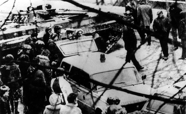 Czołgi na ulicach, godzina milicyjna. 39 lat temu wprowadzono stan wojenny