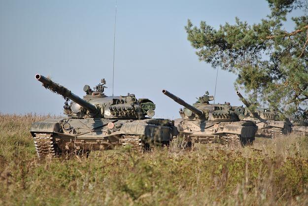 Czołgi T-72 / Fot: Marcin Ogdowski /INTERIA.PL