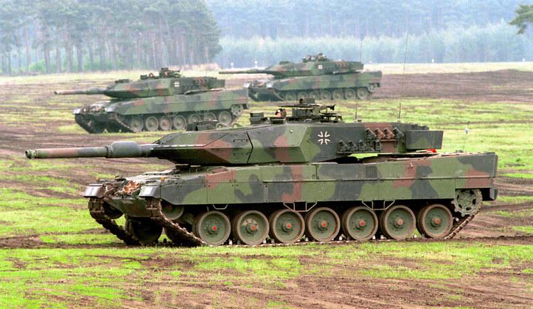 Czołgi typu Leopard 2 /Bundeswehr/Modes  /Defence24