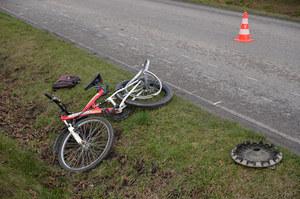 Czołowe zderzenie rozpędzonych... rowerzystów