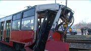 Czołowe zderzenie tramwajów w Katowicach