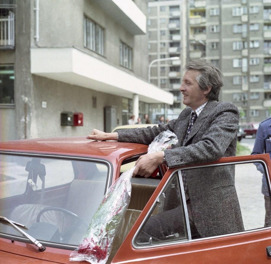 """""""Czterdziestolatek"""", reżyseria Jerzy Gruza. Na zdjęciu Andrzej Kopiczyński /Zygmunt Januszewski    /PAP"""