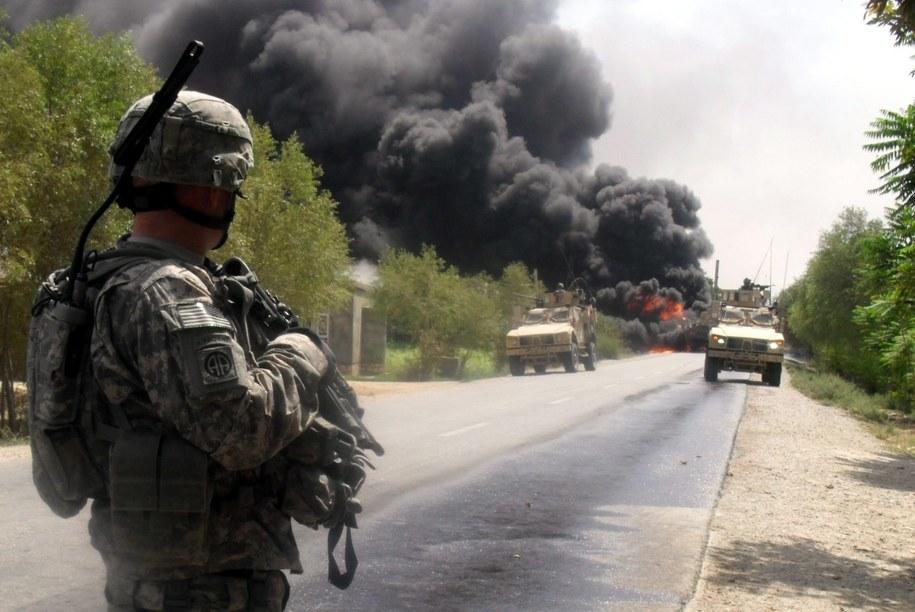 Czterej amerykańcy żołnierze zginęli w Afganistanie /NAQEEB AHMED    /PAP/EPA