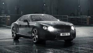 Czterodrzwiowe coupe Bentleya w planach