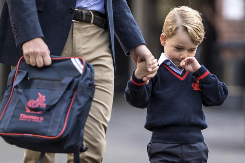 Czteroletni książę George rozpoczyna edukację /Getty Images