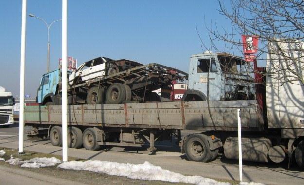 Czteropiętrowa ciężarówka / Fot: ITD /