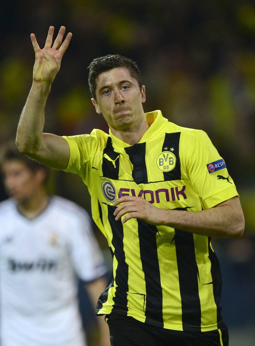"""Cztery gole """"Lewego"""" w meczu z Realem zrobiły wrażenie na ekspertach /AFP"""