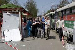 Cztery ładunki eksplodowały w Dniepropietrowsku