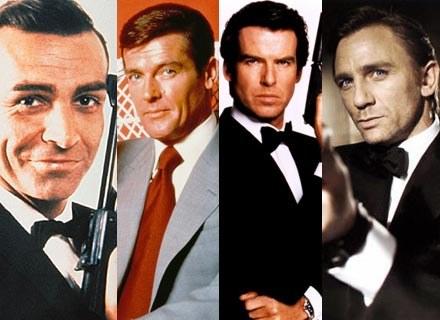 Cztery najważniejsze wcielenia ikony kultury popularnej - Jamesa Bonda /materiały dystrybutora
