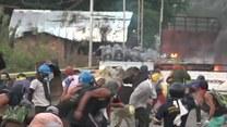 Cztery ofiary śmiertelne starć na moście między Kolumbią, a Wenezuelą