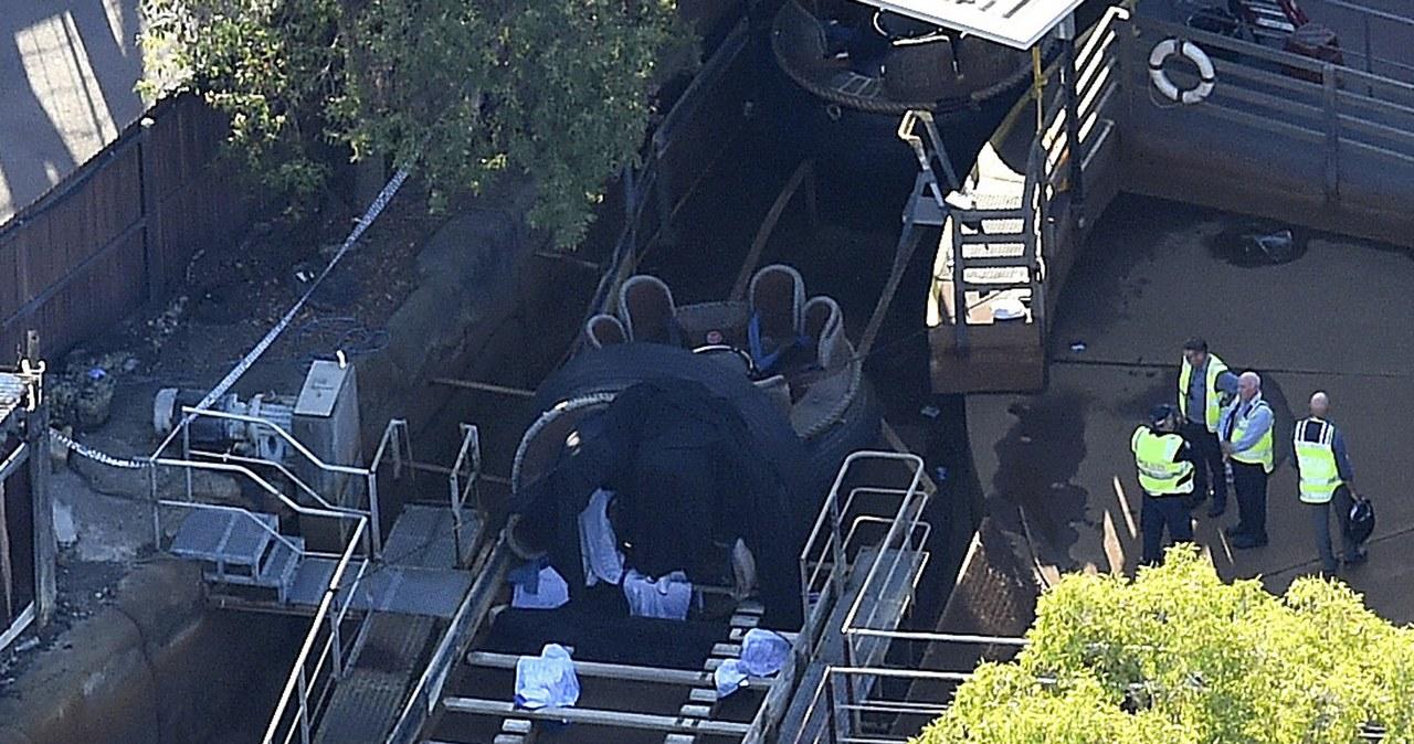Cztery osoby zginęły w parku rozrywki w Australii