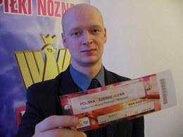 Cztery tysiące biletów na mecz z Azerbejdżanem czeka jeszcze na kibiców /PZPN
