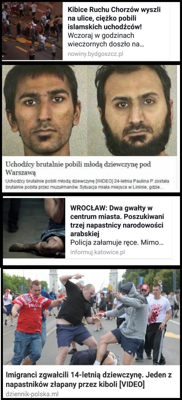 Cztery z kilku krążących na polskim Facebooku oszustów związanych z uchodźcami /Internet