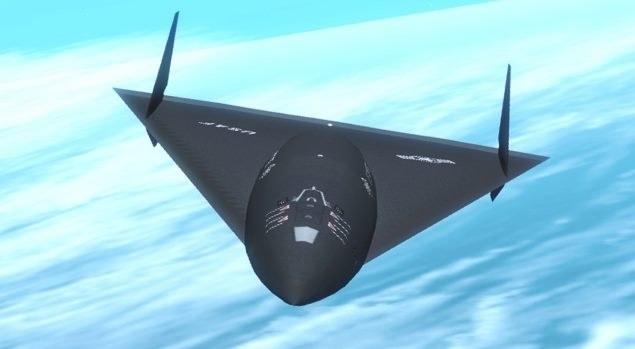Czu nad lasem testowano eksperymentalny samolot Aurora? Istnieje takie prawdopodobnieństwo /materiały prasowe