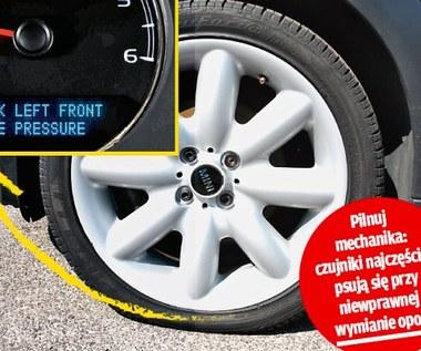 Czujniki ciśnienia w oponach - naciąganie kierowców?