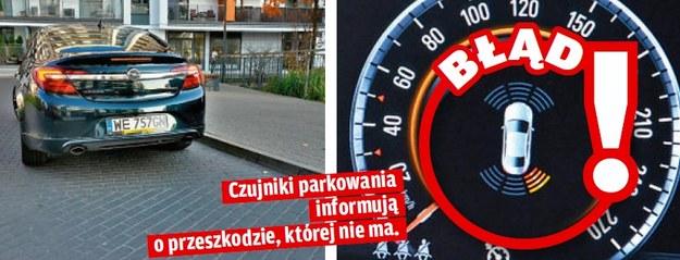 Czujniki parkowania /Motor