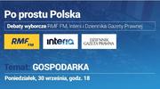 """Czwarta debata """"Po prostu Polska"""": Gospodarka"""