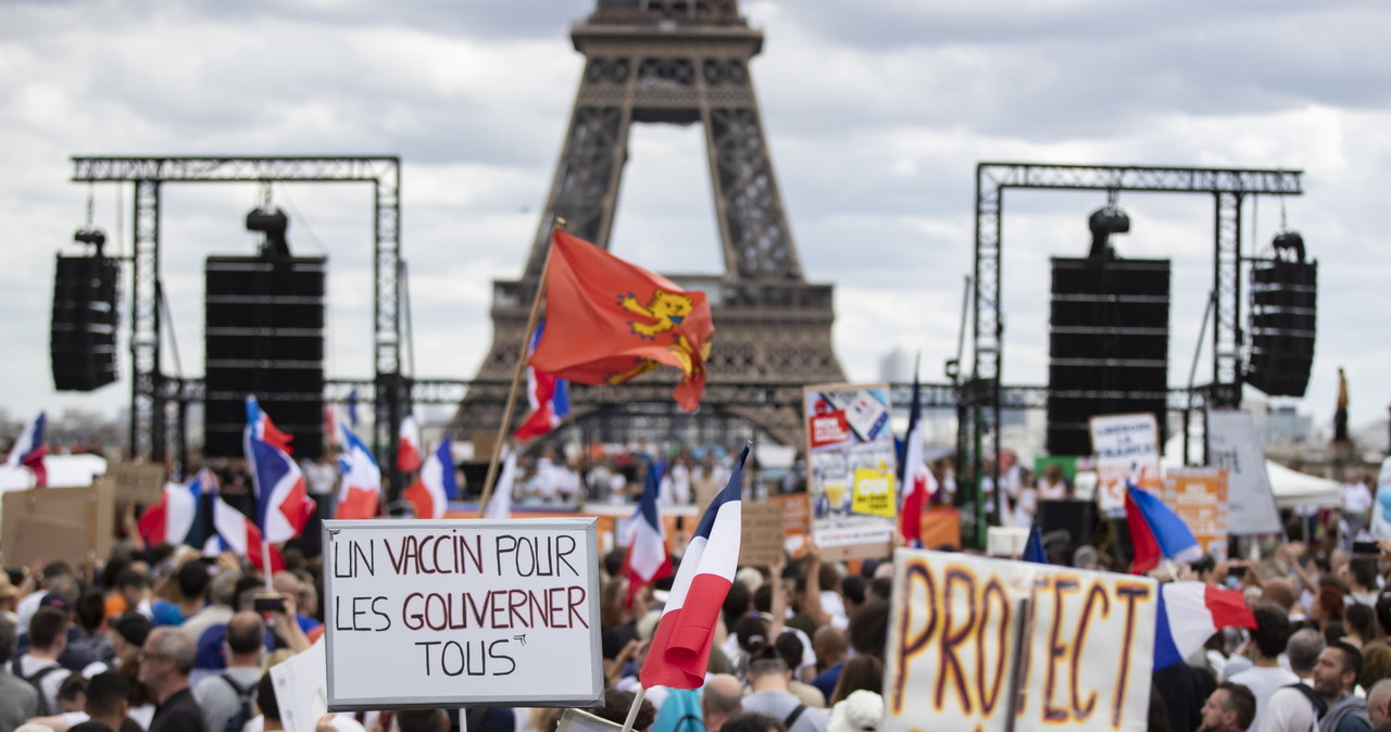 Czwarta fala epidemii Covid-19: Poziom alarmowy przekroczony w całej Francji!