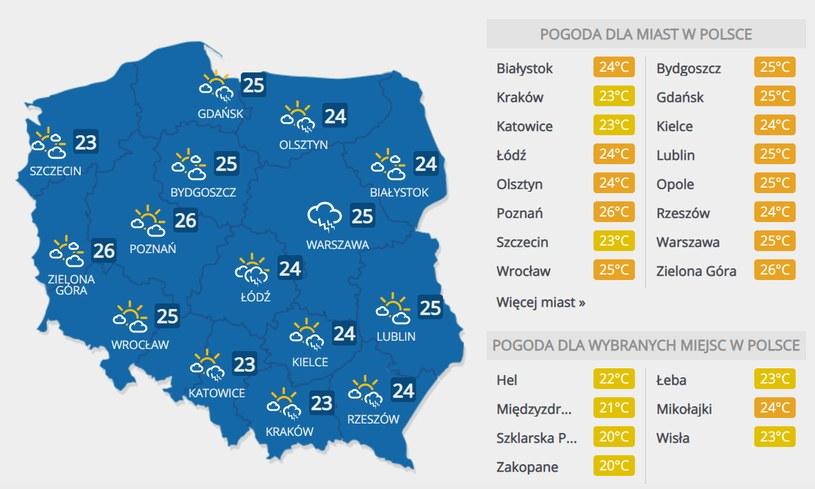 Czwartek (24.09) /INTERIA.PL
