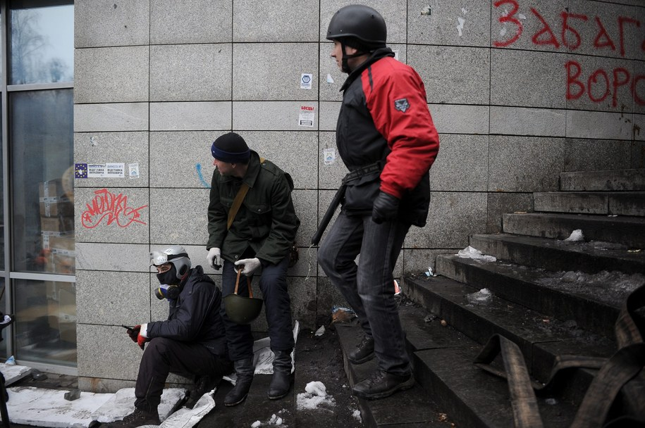 Czwartek na ulicach Kijowa /ALEXEY FURMAN /PAP/EPA