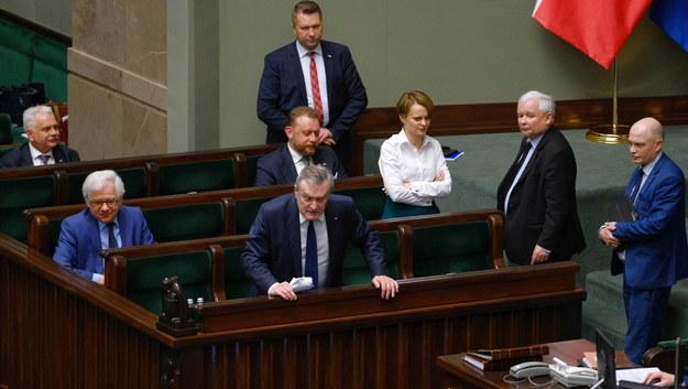 Czwartkowa debata w Sejmie /Mateusz Marek /PAP