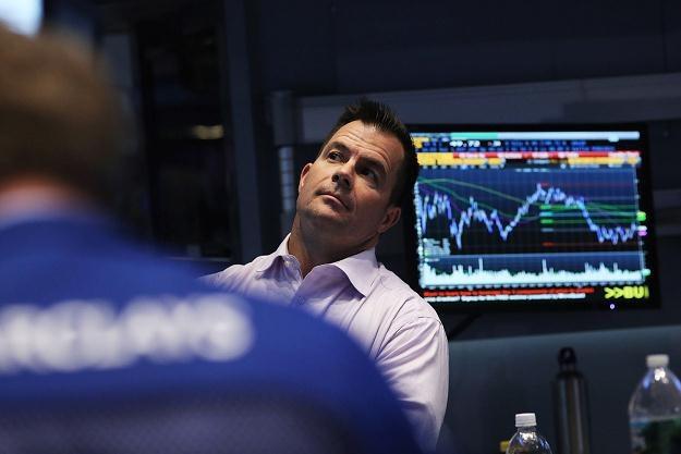 Czwartkowa sesja na Wall Street przyniosła czwarty raz z rzędu niewielkie spadki /AFP