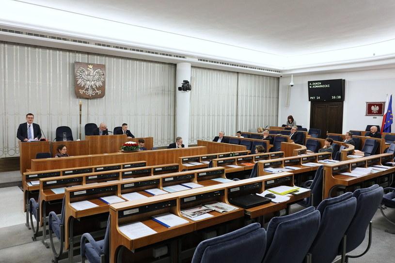 Czwartkowe posiedzenie Senatu /Paweł Supernak /PAP