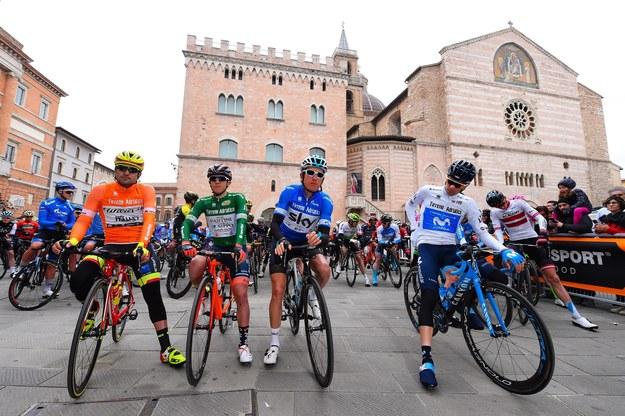 Czwarty, królewski etap wyścigu kolarskiego Tirreno-Adriatico /DARIO BELINGHERI /PAP/EPA