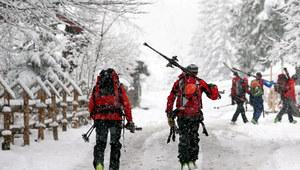 Czwarty stopień zagrożenia lawinowego w Tatrach