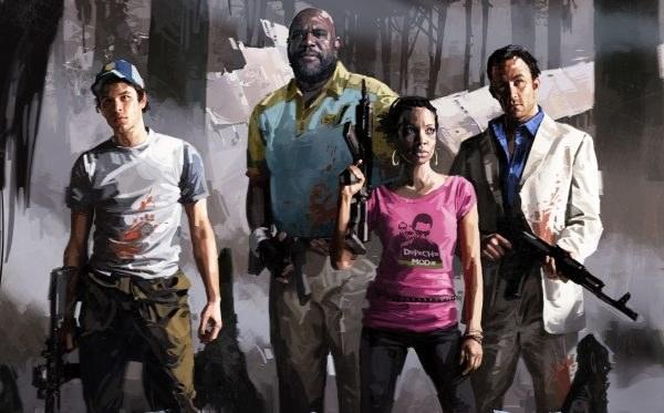 Czwórka bohaterów Left 4 Dead 2 /Informacja prasowa