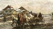 """""""Czwórka koni"""" w muzealnym oknie"""