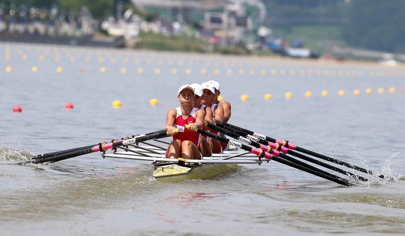 Czwórka podwójna kobiet popłynie w finale A mistrzostw świata /PAP/EPA