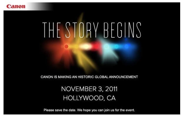 Czy 3 listopada Canon zaskoczy wszystkich nowym, rewolucyjnym produktem? /Fotoblogia.pl