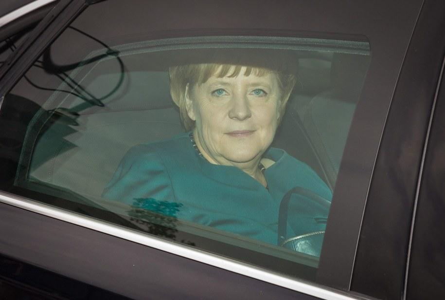 Czy Angela Merkel była inwigilowana przez amerykańskie służby ? / MICHAEL KAPPELER  /PAP/EPA